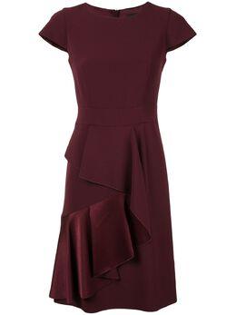 Paule Ka многослойное платье с оборками 180R126