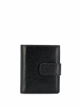 Thom Browne BLACK PEBBLED CLASP CLOSURE BILLFOLD MAW138A00198