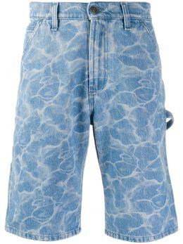 MSGM джинсовые шорты 2840MB41L207066