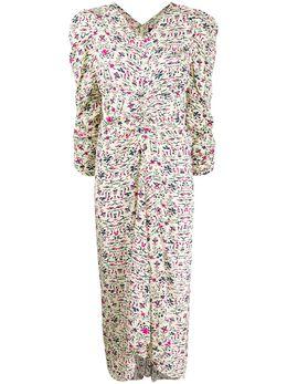 Isabel Marant платье Albi с цветочным принтом RO128220P021I