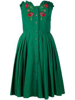 A.N.G.E.L.O. Vintage Cult платье 1970-х годов с цветочной вышивкой ACT250L