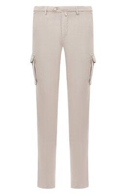 Хлопковые брюки-карго Kiton UFPPCAJ07S44