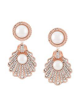 Vivetta серьги с кристаллами и жемчугом 74116903