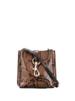 Rebecca Minkoff сумка через плечо Megan с тиснением под змеиную кожу HH19IPYXB4HB219