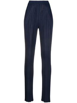 Gentry Portofino фактурные брюки с завышенной талией D316VI
