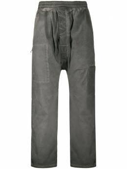 11 By Boris Bidjan Saberi спортивные брюки с выцветшим эффектом P22F1426