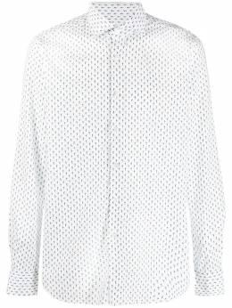 Xacus рубашка на пуговицах с геометричным принтом 61535748ML