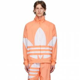 Adidas Originals Pink Big Trefoil Track Jacket FM9890