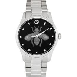 Gucci Silver G-Timeless Bee Watch YA1264136