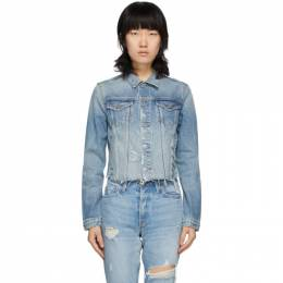 Grlfrnd Blue Denim Cara Jacket GF4012424-F17