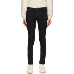 Nudie Jeans Black Skinny Lin Jeans 111539