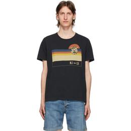 Nudie Jeans Black Misfit Sunset Roy T-Shirt 131697