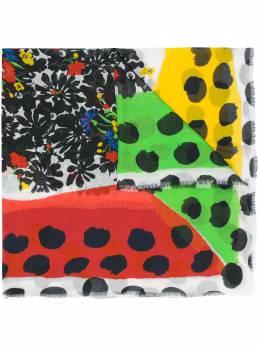 Missoni шарф в горох с цветочным принтом SL80MMD7526