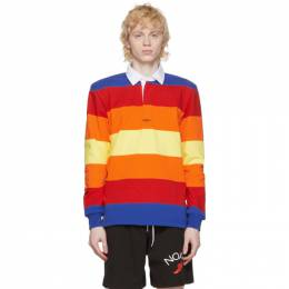 Noah Nyc Multicolor Stripe Rugby Polo KN13SS20