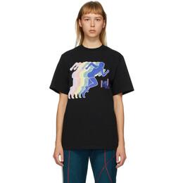 Martine Rose SSENSE Exclusive Black Peace Print T-Shirt CLASSIC T-SHIRT