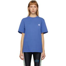 Martine Rose SSENSE Exclusive Blue Graphic T-Shirt CLASSIC T-SHIRT