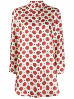 Alberto Biani рубашка с узором MM829SE3101