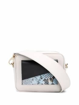 L'Autre Chose каркасная сумка с контрастными вставками LBL0140162933