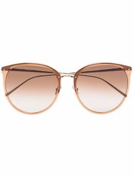 Linda Farrow солнцезащитные очки Kings Tobacco LFLC747C20SUN