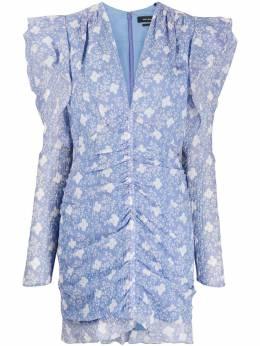 Isabel Marant платье Etya с цветочным принтом RO160020P024I