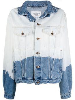 Forte Dei Marmi Couture двухцветная джинсовая куртка 20SF5350