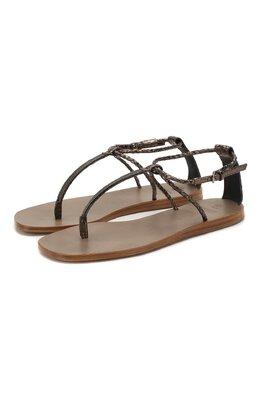 Кожаные сандалии Brunello Cucinelli MZR0C1773