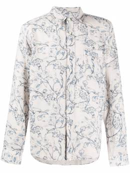 120% Lino рубашка с цветочным принтом R0M1425000F777S00