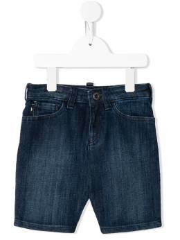 Emporio Armani Kids джинсовые шорты с логотипом 3H4SJD4D1XZ