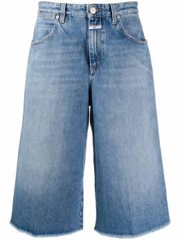 Closed джинсовые шорты по колено C9331115XHM