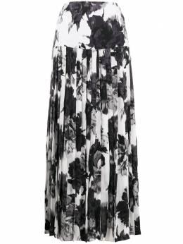 Alexandre Vauthier юбка макси с цветочным принтом 201SK1207