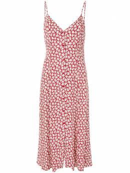 Reformation платье миди Gemstone с цветочным принтом 1306004GNI