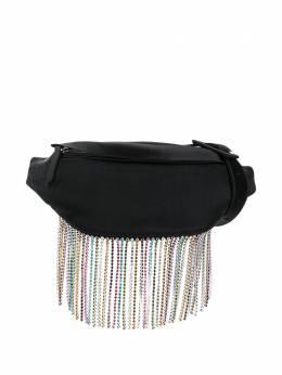Les Petits Joueurs поясная сумка с бахромой из кристаллов EBBCRFMRS01