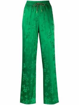Essentiel Antwerp брюки с цветочным принтом и кулиской VIDEOGAMES