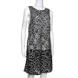Alice + Olivia Limited Edition Embellished Tulle Laser Cut Remi Shift Dress M 290519