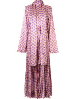 Solace London платье с завязками OS25093A