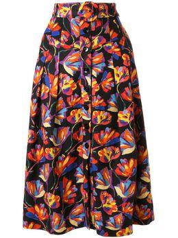 Rebecca Vallance юбка Cintia А-силуэта с цветочным узором 20023271
