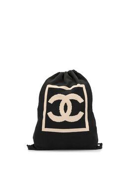Chanel Pre-Owned рюкзак Sport Line с логотипом CC и кулиской 8323054