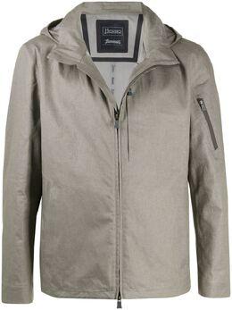 Herno куртка на молнии с капюшоном GI049UL17115