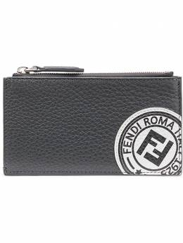 Fendi logo stamp zipped wallet 7M0227A4NR