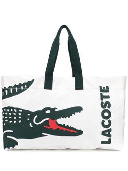 Lacoste сумка-тоут с логотипом NF3086BE