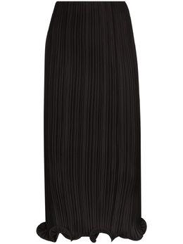 Toteme плиссированная юбка миди 203303709