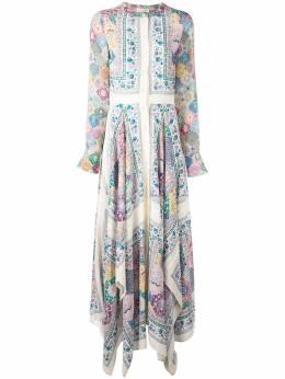 Altuzarra платье макси с принтом 3141021