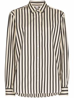 Toteme полосатая блузка с длинными рукавами 203708716