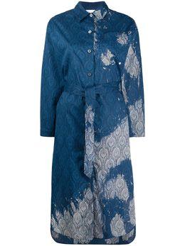Etudes платье с принтом пейсли и эффектом потертости E16W322BL
