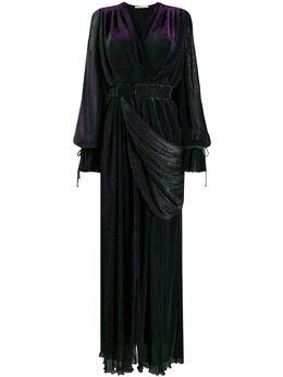 Marco De Vincenzo платье макси с поясом MD5469LMDVNY01