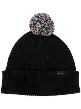 Paul Smith шапка бини с помпоном M1A579EAH468