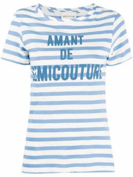 Semicouture футболка в полоску S0SJ26