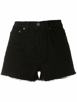 Reformation джинсовые шорты Dixie с завышенной талией 1302909BLK
