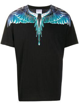 Marcelo Burlon County Of Milan футболка Wings узкого кроя CMAA018E20JER0011043