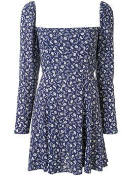 Reformation платье мини Sidecar с цветочным принтом 1306064MTR